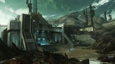 video games buildings halo reach digital art concept art artwork_www.wall321.com_62.jpg (600×337)
