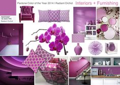 Pantone Color of 2014 Radiant Orchid | Interiors + Furnishing