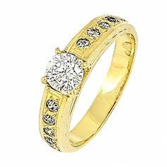 Gold Brilliant Ring
