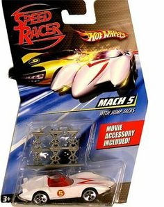 Hot Wheels Speed Racer Mach 5 With Jump Jacks by Mattel. $18.40