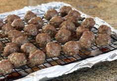 Meatballs Baked - Photo: Diana Rattray