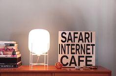 ODA small white lamp by Sebastian Herkner