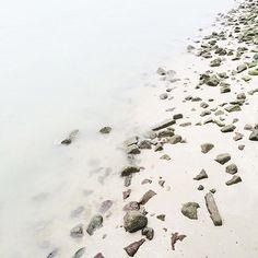 Misty Shores | www.memobottle.com  Thanks for the beautiful image @imackario  #memobottle #onebottlemovement #shore #beach #still #water