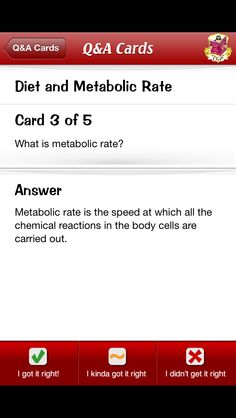 Metabolic rate.