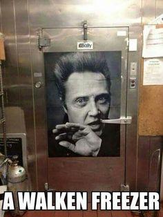 A Walken freezer