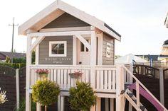 Jak Zbudować Domek dla Dziecka // How to Build the Kids Garden House - Dla dzieci - Dekoracja Cubby Houses, Fairy Houses, Play Houses, Backyard Swings, Backyard For Kids, Kids House Garden, Home And Garden, Garden Planning, Outdoor Structures