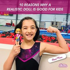 """""""They are super age appropriate and the clothing is darling."""" -Kelly, Lottie Customer Our Kids, My Children, Healthy Body Images, Body Proportions, Positive Body Image, Realistic Dolls, Childhood Days, Building For Kids, Kids Reading"""
