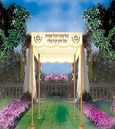 Wedding Canopy 60 X 60 Black . $1500.00. Wedding Canopy - Chuppah Jewish Wedding chuppahs judaica arts Wedding Canopy, Garden Canopy, The Power Of Love, Chuppah, Canopies, Umbrellas, Patio, Accessories, Furniture