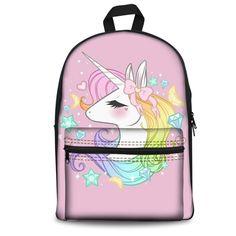 Mochila Trolley, Fashion Backpack, Backpacks, Bags, School Backpacks, Baggage, Unicorn, Products, Handbags