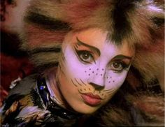 Inspiration: Cat makeup from Cats the musical hit on Broadway                                                                                                                                                      More