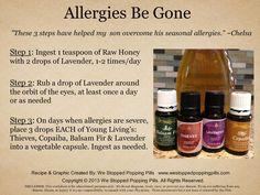 Allergies Be Gone  www.westoppedpoppingpills.com