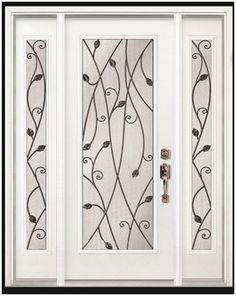 It's a door, but I think would be a great look for some of my upper cabinets! #LGLimitlessDesign #Contest