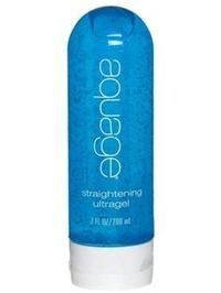 Aquage straightening ultragel. Great for creating smooth, frizz free styles while protecting your hair from the heat of your tools.