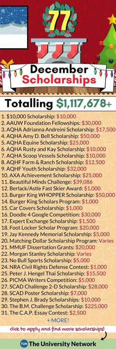 Scholarships Here is a selected list of December 2018 Scholarships., December Scholarships Here is a selected list of December 2018 Scholarships.,December Scholarships Here is a selected list of December 2018 Scholarships. College Life Hacks, Life Hacks For School, School Study Tips, College Tips, School Tips, College Club, Online College, School Ideas, School Scholarship
