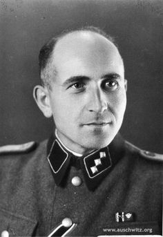The Banality of Evil: Maximilian Grabner (1905-1948) was an Austrian Gestapo chief at Auschwitz  where the infamous torture chamber Block 11 was his own empire. He carried out his duties with horrific cruelty and the use of the most brutal torture. Grabner personally took part in the shooting of Russian Commissars. At the Auschwitz Trial he was found guilty of murder and crimes against humanity, and was sentenced to death, and was hanged on January 28, 1948.