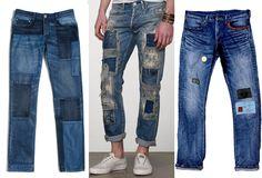 Patchwork Jeans Trend - Best Denim for Men
