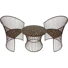 New Bistro set for casita balcony - purchased from wayfair.com.