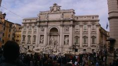Trevi Fountain a better view.
