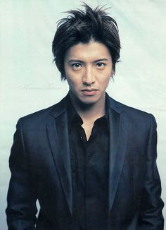 Takuya Kimura is a Japanese singer and actor. He is a member of the Japanese idol group SMAP. Most of the TV dramas he starred Japanese Drama, Japanese Men, Takuya Kimura, Big Crush, Asian Boys, Getting Old, Boy Bands, Beautiful Men, Gentleman