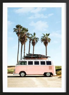 Sonntag in Los Angeles 🌴 Foto von Andrew Kuttler via Trina Turk - Pintxo Bar - Beach Beach Aesthetic, Summer Aesthetic, Photo Wall Collage, Picture Wall, Images Esthétiques, Shotting Photo, Beach Print, Venice Beach, Vw Bus