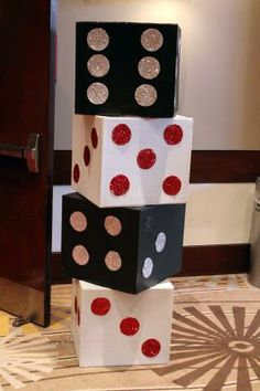 Large Dice Decoration