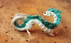 Items similar to Ermine Eastern Dragon Figurine Fantasy Spirit Elemental Dragon Sculpture Fantasy Animal Creature on Etsy Polymer Clay Dragon, Polymer Clay Animals, Fantasy Dragon, Dragon Art, Harry Potter Beasts, Dragon Figurines, Cute Dragons, Cute Clay, Clay Figurine
