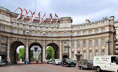 Admiralty Arch at Trafalgar Square, London