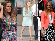 Kim Sears: 5 Things About Andy Murray's Girlfriend Mint Dress Lace, Asos T Shirts, Look Con Short, Chambray Skirt, Andy Murray, Black And White Shoes, Summer Lookbook, Floral Shorts, Denim Skinny Jeans