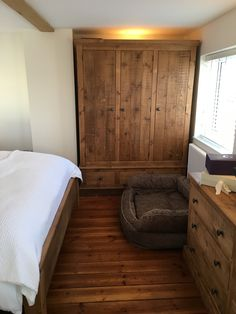 Rustic Plank wardrobe. We make furniture for every room in the home.