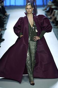 Balmain Fall 2002 Couture Fashion Show: Complete Collection - Style.com