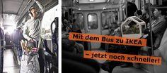 Mit dem Bus zu IKEA