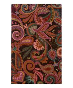 Take a look at this Brown & Pink Rebecca Wool Rug by Oriental Weavers on #zulily today!  Perfect for jojo's room