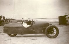 Photo of racer Gwenda Hawkes (then Stewart). 1930