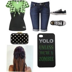 polyvore summer outfits | SUMMER OUTFITS the phone cover is not my taste