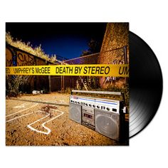 "Umphrey's McGee - Death by Stereo Vinyl LP  Death By Stereo vinyl double LP includes three bonus tracks on side D, and comes with a CD copy of the album. ""'Death By Stereo' is a lethal musical gumbo stewed by the band's seemingly telepathic six members. #sunshinedaydream #hippieshop"