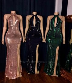 Mermaid neck ball gowns for women Sexy floor length sequins Split real photos events Africal black girls party dresses 2020 Black Girl Prom Dresses, Cute Prom Dresses, Prom Dresses Long With Sleeves, Prom Outfits, Beautiful Prom Dresses, Birthday Dresses For Women, Bar Outfits, Vegas Outfits, Birthday Outfits