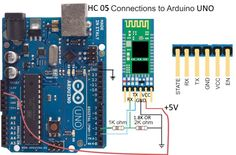 How to connect HC05-ARDUINO-UNO