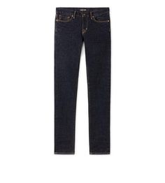 SLIM FIT BLUE JEANS | Shop Tom Ford Online Store