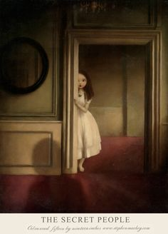 Stephen Mackey - Painting: The Secret People Art And Illustration, Portrait Illustration, Art Illustrations, Fashion Illustrations, Arte Grunge, Arte Horror, Gothic Art, Surreal Art, Dark Art