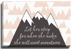 Let Her Sleep by Rosa Vila Graphic Art on Wrapped Canvas