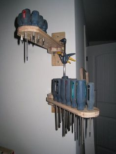 screw driver rack - Google Search