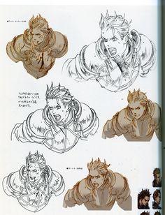 Tactics Ogre: Let Us Cling Together - Masao Tsubasa - under the art direction of Yoshida Akihiko.