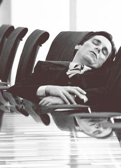 Sleep - It's what you do at work after spending the whole night beating criminals to a pulp. Batman