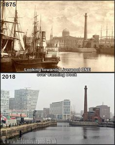 Liverpool One, Liverpool Docks, Liverpool History, Old Pictures, Old Photos, Southport, Paris Skyline, England, Places
