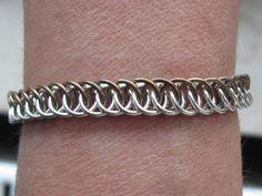 925 Silver & Brass Half Persian 4 in 1 Bracelet 13,9g