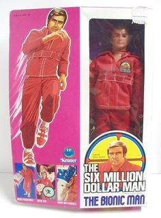 Six Million Dollar Man - arm would lift engine block - skin would roll back on arm to show bionics - eye could be looked through to see far away (actually make close things seem far away) favorite toy of all time.oh i loved this toy. 90s Childhood, My Childhood Memories, Bionic Woman, Barbie, 80 Cartoons, Steve Austin, This Is Your Life, 80s Kids, Before Us