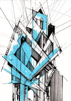 Interesting Find A Career In Architecture Ideas. Admirable Find A Career In Architecture Ideas. Architecture Exam, Architecture Drawing Art, Architecture Blueprints, Architecture Sketchbook, Architecture Graphics, Concept Architecture, Geometric Drawing, Abstract Drawings, Art Drawings