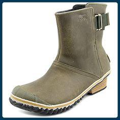 Sorel Slimboot Pull On Damen US 6 Braun Winterstiefel - Stiefel für frauen (*Partner-Link)