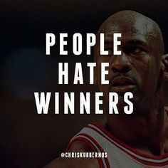 #Haters really describes a certain mentality. In some ways it's human nature to be jealous and to hate others for their successes because it reminds us of our own failures. Everyone fails but not everyone wins. It takes fortitude to win. #winning #entrepreneurship #business #quote #marketing #inspiration