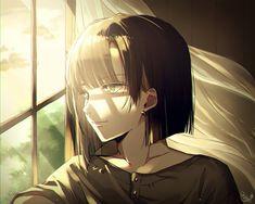Sad Anime Girl, Kawaii Anime Girl, Manga Girl, Anime Art Girl, Brown Hair Anime Boy, Anime Couple Kiss, Cartoon Girl Images, Fantasy Art Men, Kawaii Illustration